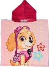 Hvolpasveit Pup Heroes poncho handklæði