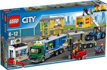 Lego City Flutningabíll og lyftari
