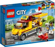 Lego City pizza bílinn
