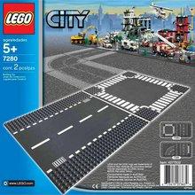 Lego City Vegplötur