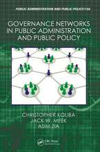 Governance Networks in Public Administration