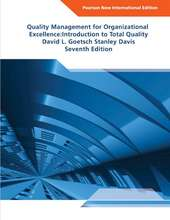 Quality Management for Organizational Exellence