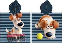 Secret Life of Pets poncho handklæði