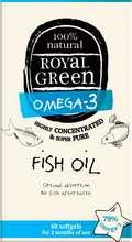 Royal Green fiskiolía, 30 stk