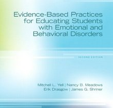 Evidence-Based Practices for Educating Students