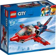 Lego City flugsýningar þota