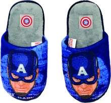 Captain America inniskór, bláir