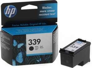 HP Blekhylki no. 339 Svart
