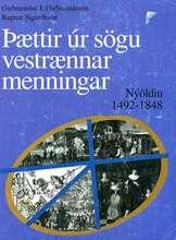 Þættir úr sögu vestrænnar menningar - Nýöldin