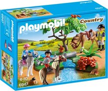 Playmobil Country - Börn á hestbaki