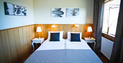 Hotel Borealis, gisting, kvöldverður og morgunmatur fyrir tvo