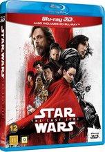 Star Wars: The Last Jedi - 3D og 2D BluRay