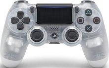 PS4 Dual Shock Crystal fjarstýring - glær