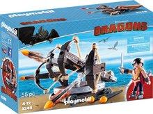 Playmobil Dragons Skytta og skotpallur