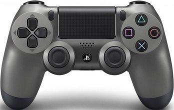 PS4 Dual Shock fjarstýring - steel black