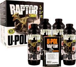 U-POL Raptor pallhúðunarsett svart - 4 lítrar.