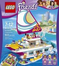 Lego Friends Seglbátur