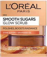 L'Oréal Smooth Glow sugar scrub