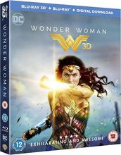 Wonder Woman 3D Blu Ray