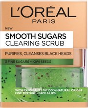 L'Oréal Smooth Clearing sugar scrub