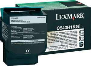 Lexmark Dufthylki C540H1 Black