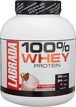Labrada 100% Whey Jarðaberja - 1,875 kg - 50 skammtar