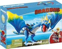 Playmobil Dragons: Blái drekinn