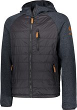 ZO•ONDalsfell Hybrid Jacket tvískiptur herrajakki, svartur