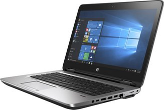 HP Probook 640 i5 8GB 256GB fartölva dokkanleg