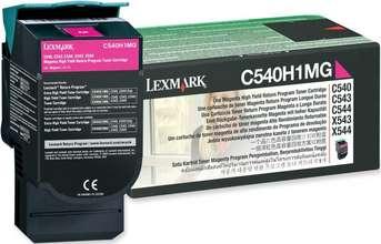 Lexmark Dufthylki C540H1 Magenta