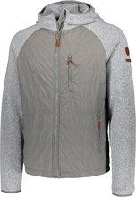 ZO•ONDalsfell Hybrid Jacket tvískiptur herrajakki, stálgrár
