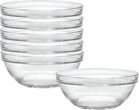 Uniglass Stackable skálar, 6stk - 9 cm