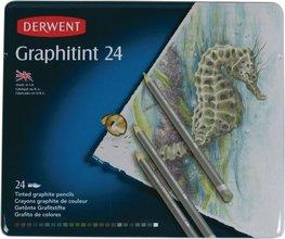 Derwent Graphitint trélitir, 24 stk