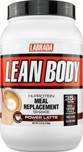 Labrada Lean Body MRP dunkur Power Latte 1120 gr - 16 skammtar