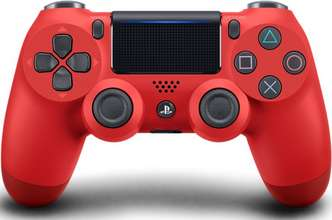 PS4 Dual Shock 4 Magma Red 2