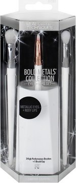 Real Techniques Bold Metals  Eyes+Lips sett