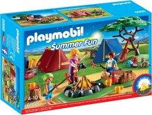 Playmobil Summer Fun - Tjaldstæði með led ljósi