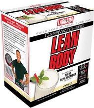 Labrada Lean Body CarbWatcher Vanilla pokar - 20 pokar í kassa