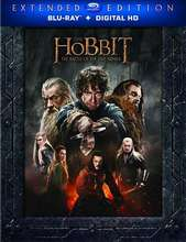 The Hobbit: Battle of the Five Armies Ext. Ed. - BluRay