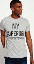 Superdry Surplus Goods Graphic Grid stuttermabolur
