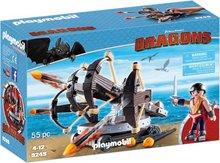Playmobil Dragons: Svarti drekinn