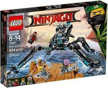 Lego Ninjago Movie vatns árás