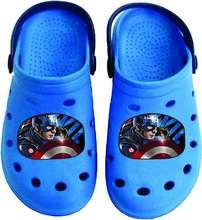 Captain America crocks skór - ljósblár