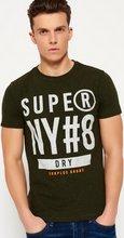 Superdry Surplus Goods Graphic stuttermabolur, khaki