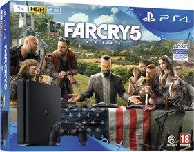 Playstation 4 SLIM 1TB + FARCRY 5