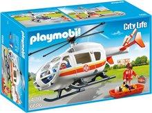 Playmobil City Life - Sjúkraflutningaþyrla