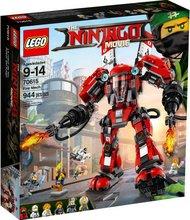 Lego Ninjago Movie eld vélmenni