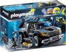 Playmobil Top Agenst: Dróna pallbíll