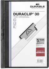 Durable Klemmumappa (DuraClip) A4 fyrir 30 blöð