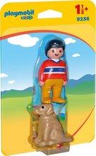 Playmobil 1-2-3 Maður með hund